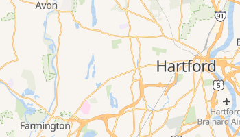 West Hartford, Connecticut map