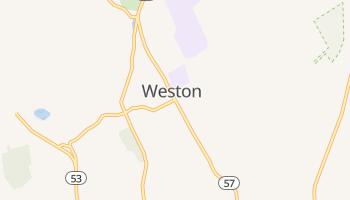 Weston, Connecticut map