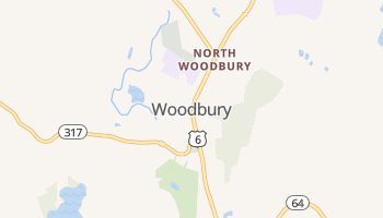 Woodbury, Connecticut map