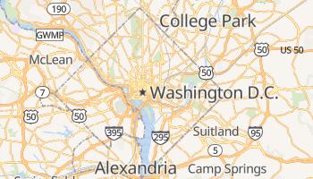 Washington, District of Columbia map