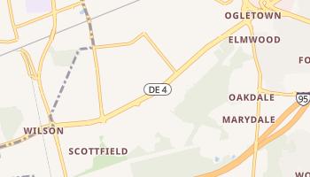 Brookside, Delaware map