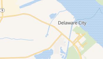 Delaware City, Delaware map