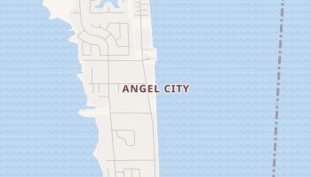 Angel City, Florida map