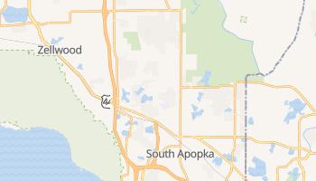 Apopka, Florida map