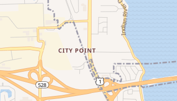 City Point, Florida map