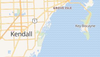 Coral Gables, Florida map
