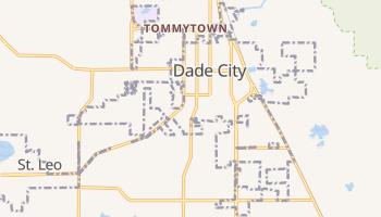 Dade City, Florida map