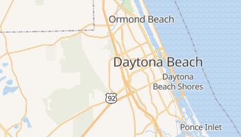 Daytona Beach, Florida map