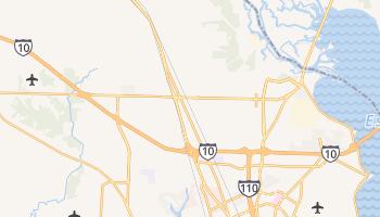 Ensley, Florida map