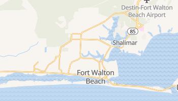 Fort Walton Beach, Florida map