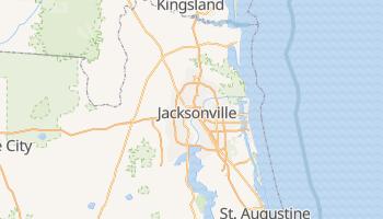 Jacksonville, Florida map