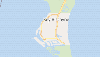 Key Biscayne, Florida map