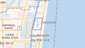 Lauderdale-by-the-Sea, Florida map