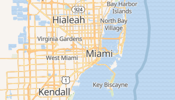 Miami, Florida map