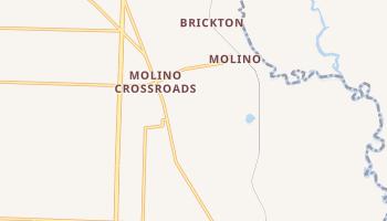Molino, Florida map
