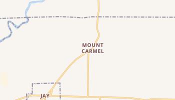 Mount Carmel, Florida map