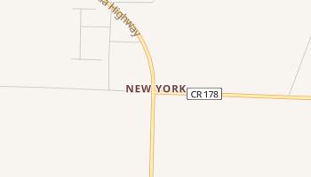 New York, Florida map