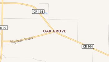 Oak Grove, Florida map