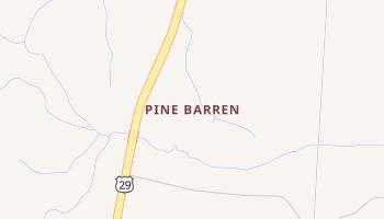 Pine Barren, Florida map