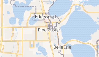 Pine Castle, Florida map