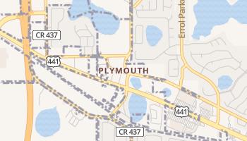 Plymouth, Florida map
