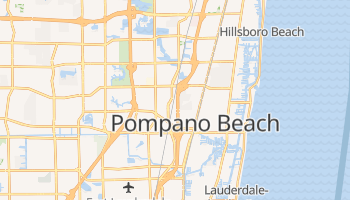 Pompano Beach, Florida map