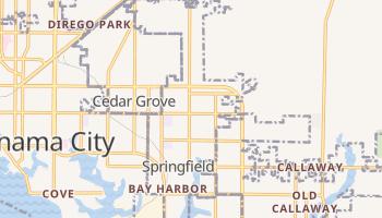Springfield, Florida map