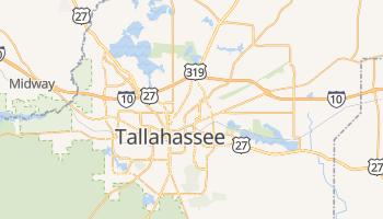 Tallahassee, Florida map