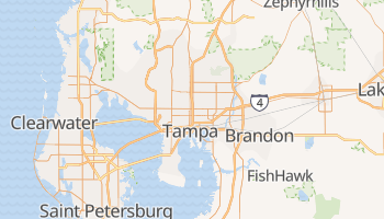 Tampa, Florida map