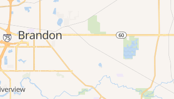 Valrico, Florida map