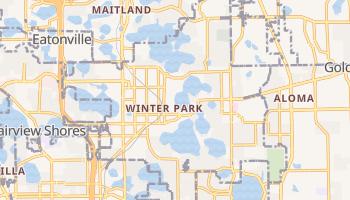 Winter Park, Florida map