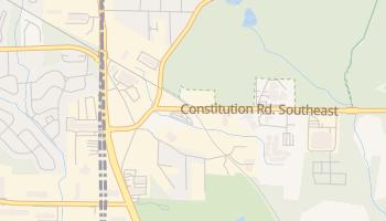 Constitution, Georgia map