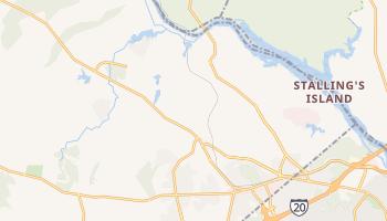 Evans, Georgia map