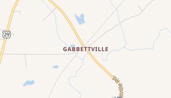 Gabbettville, Georgia map
