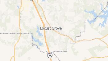 Locust Grove, Georgia map