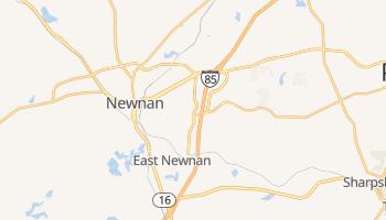 Newnan, Georgia map