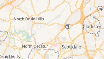 North Decatur, Georgia map