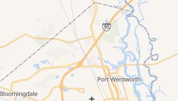 Port Wentworth, Georgia map