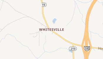 Whitesville, Georgia map