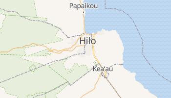 Hilo, Hawaii map