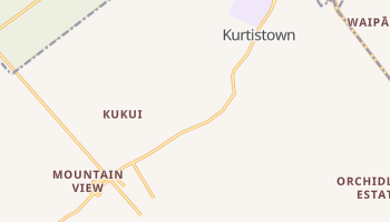 Kurtistown, Hawaii map