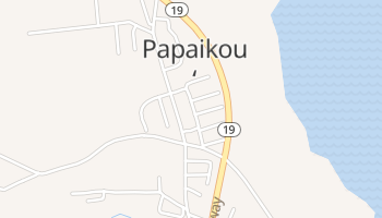 Papaikou, Hawaii map
