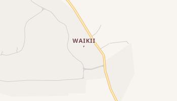 Waikii, Hawaii map