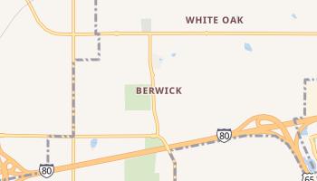 Berwick, Iowa map