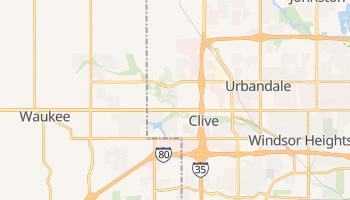 Clive, Iowa map