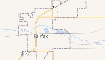 Fairfax, Iowa map