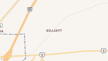 Gilliatt, Iowa map