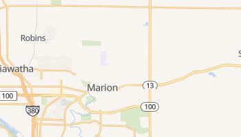 Marion, Iowa map
