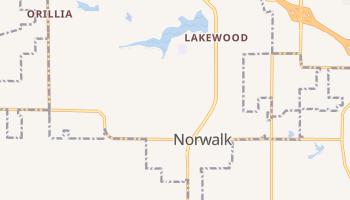 Norwalk, Iowa map