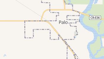 Palo, Iowa map